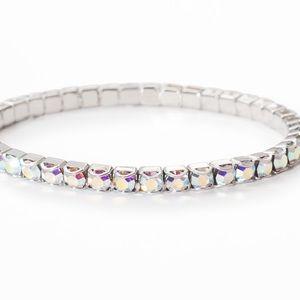 NWT Swarovski Aurore Boreale Stretch Bracelet